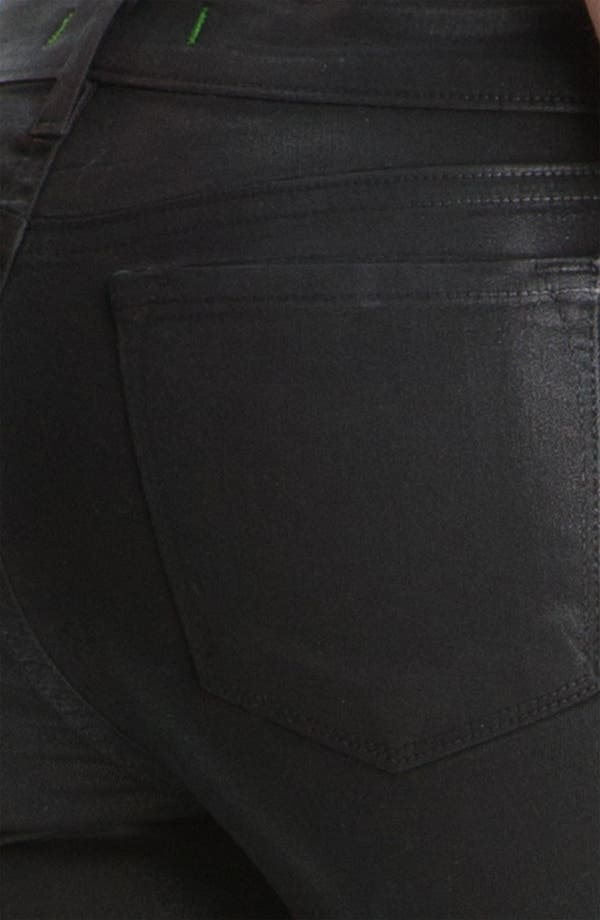 Alternate Image 3  - J Brand 'The Legging' Coated Stretch Jeans (Stealth)
