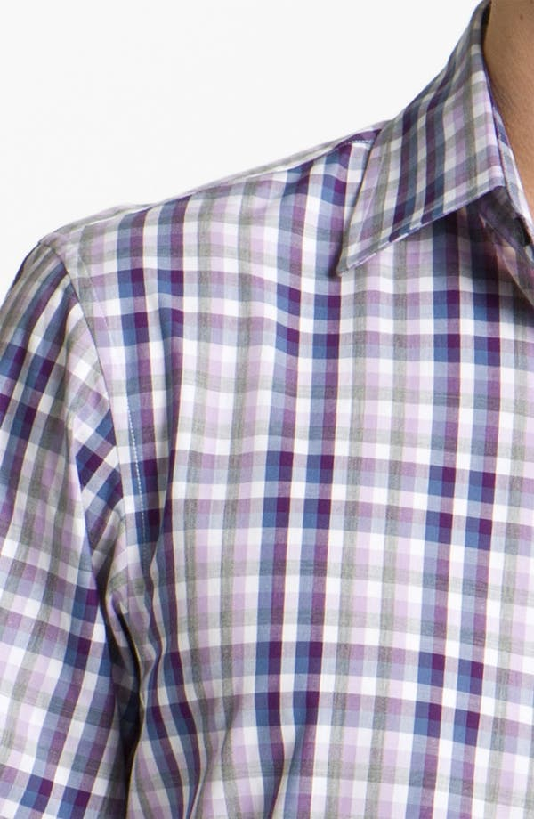 Alternate Image 3  - Michael Kors 'Rhodes' Check Woven Shirt