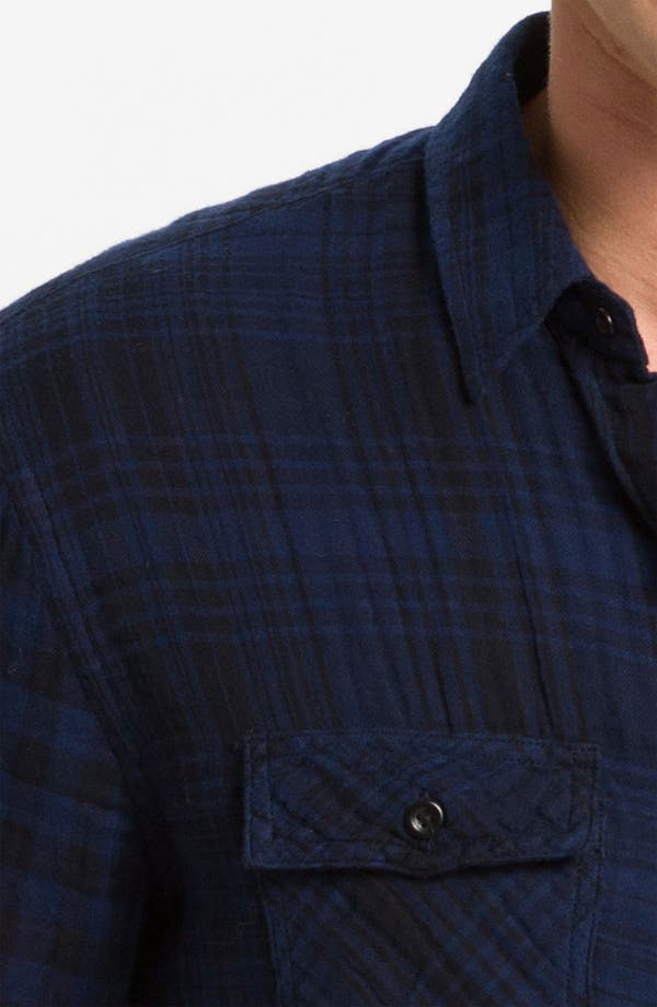 Alternate Image 3  - Vince Dual Plaid Flannel Shirt