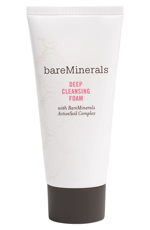 Alternate Image 1 Selected - bareMinerals® Travel Size Deep Cleansing Foam (2 oz.)