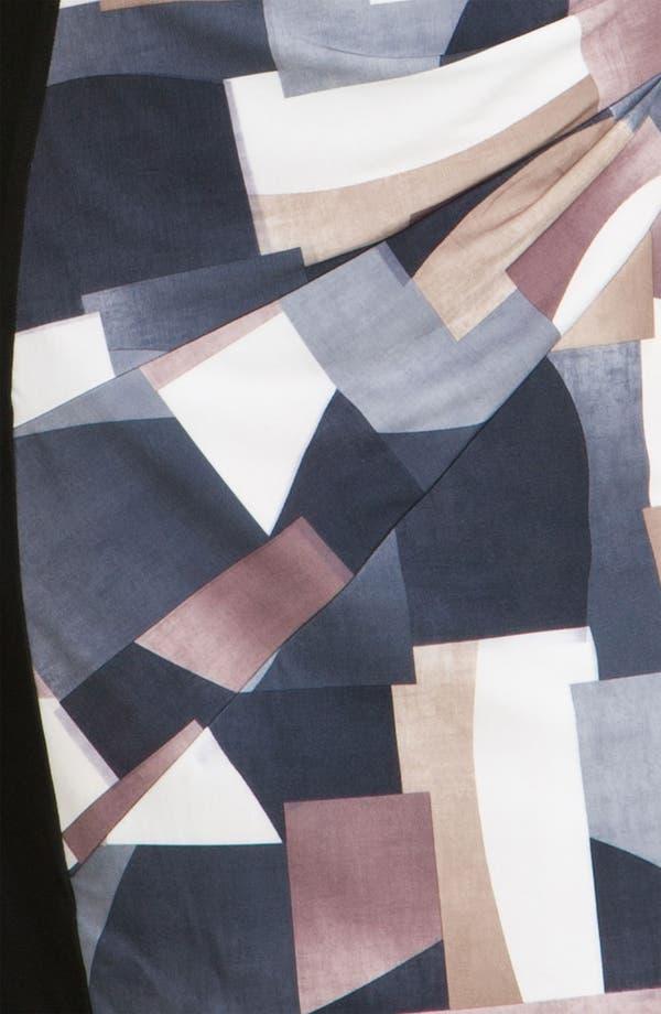 Alternate Image 3  - Alex & Ava Front Print Panel Jersey Dress