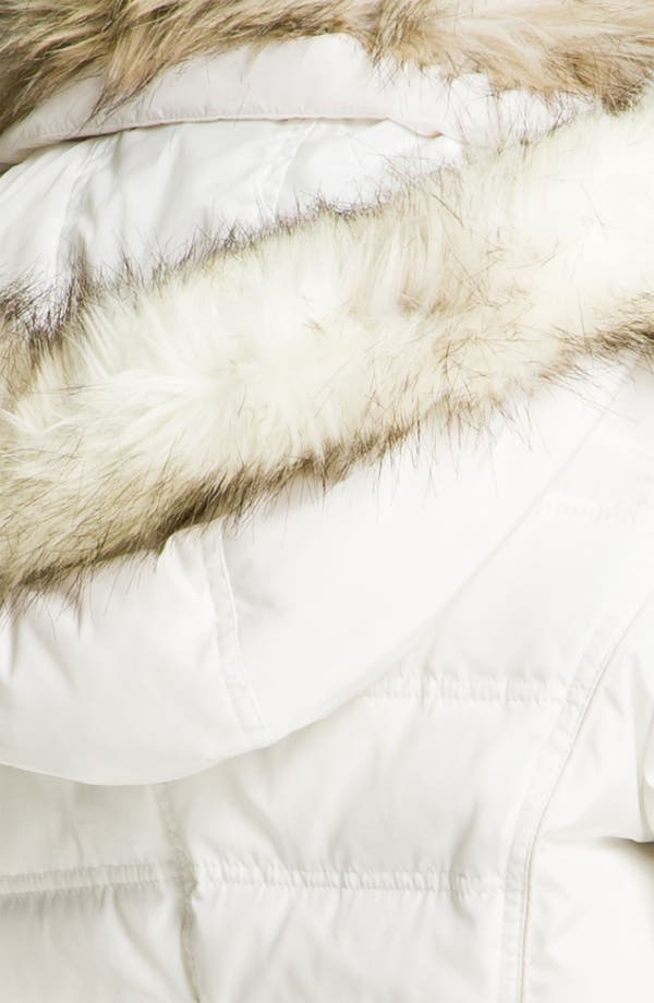 Alternate Image 3  - Laundry by Shelli Segal Faux Fur Trim Parka