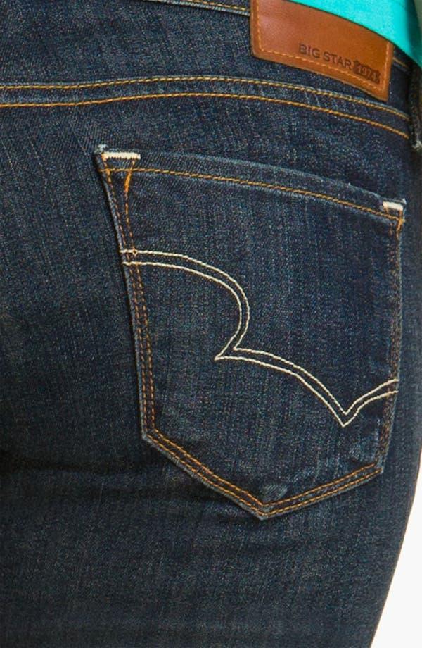 Alternate Image 3  - Big Star 'Hazel' Slim Bootcut Jeans (Three Year Dust) (Juniors)