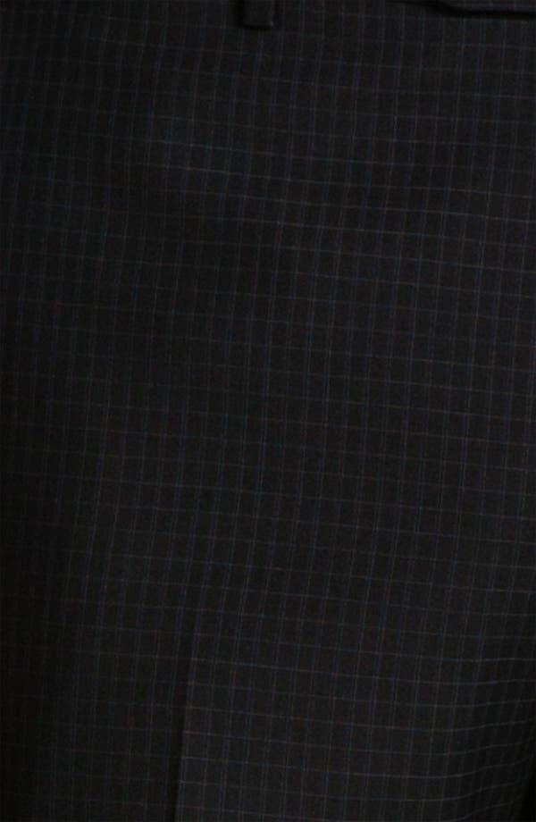 Alternate Image 3  - Zanella 'Todd' Flat Front Check Trousers