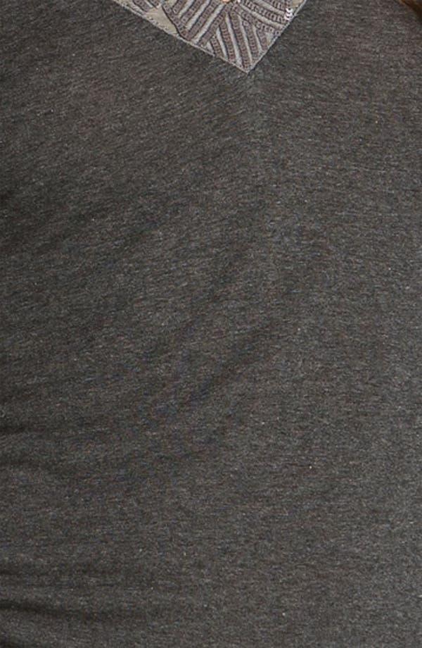Alternate Image 3  - Velvet by Graham & Spencer Embellished V-Neck Top