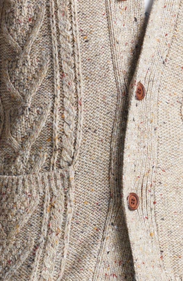 Alternate Image 3  - Topman Nep Shawl Collar Cardigan