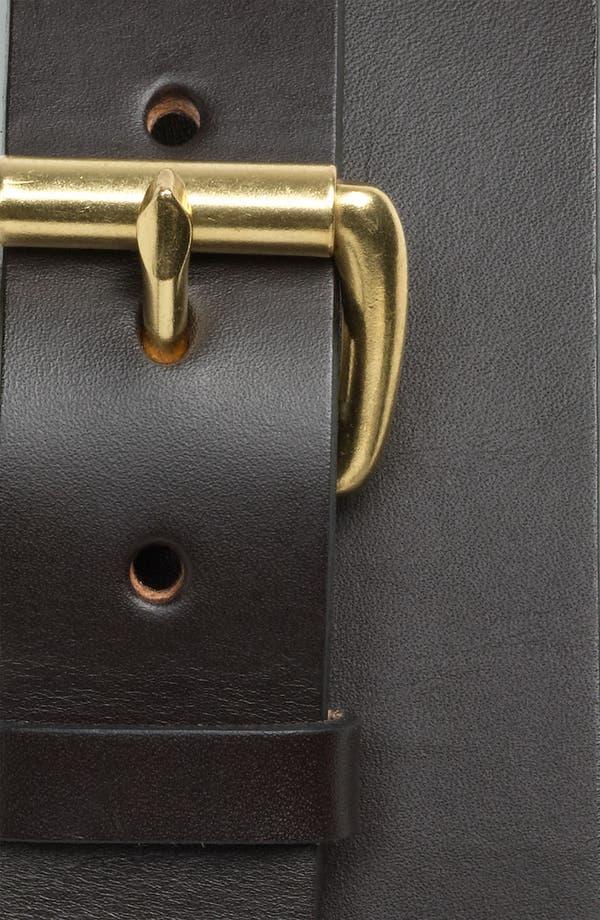 Alternate Image 2  - Filson Leather Belt