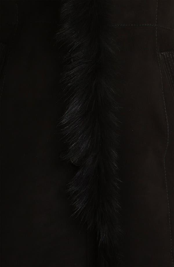 Alternate Image 3  - HIDESOCIETY Notch Collar Genuine Shearling Coat