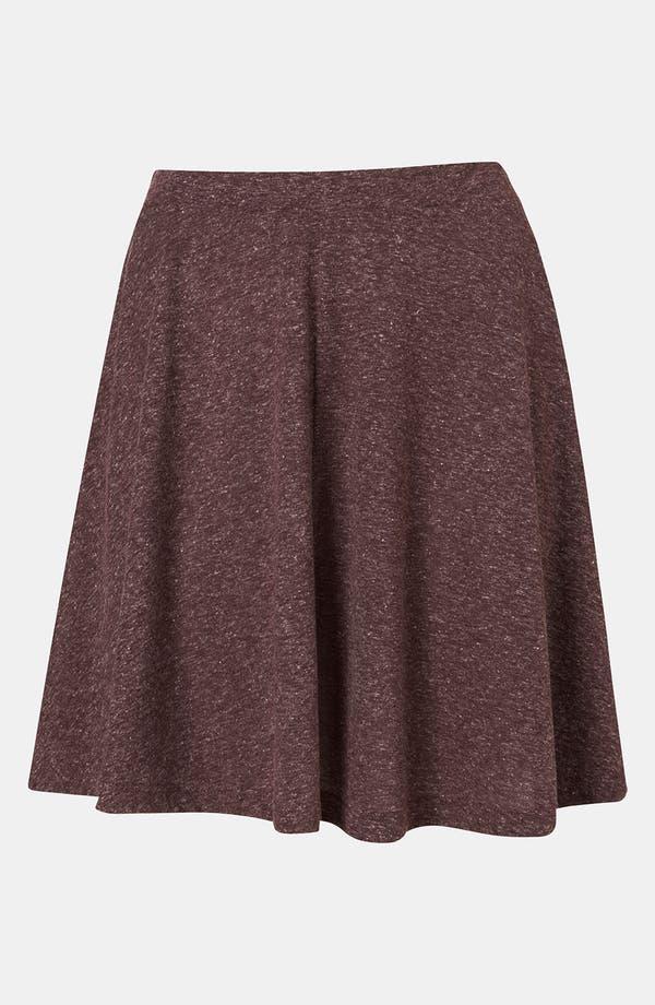 Alternate Image 1 Selected - Topshop 'Andie' Skater Skirt
