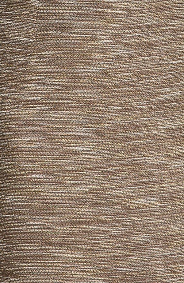 Alternate Image 3  - Lafayette 148 New York 'Faith - Radiant Reed Cloth' Dress