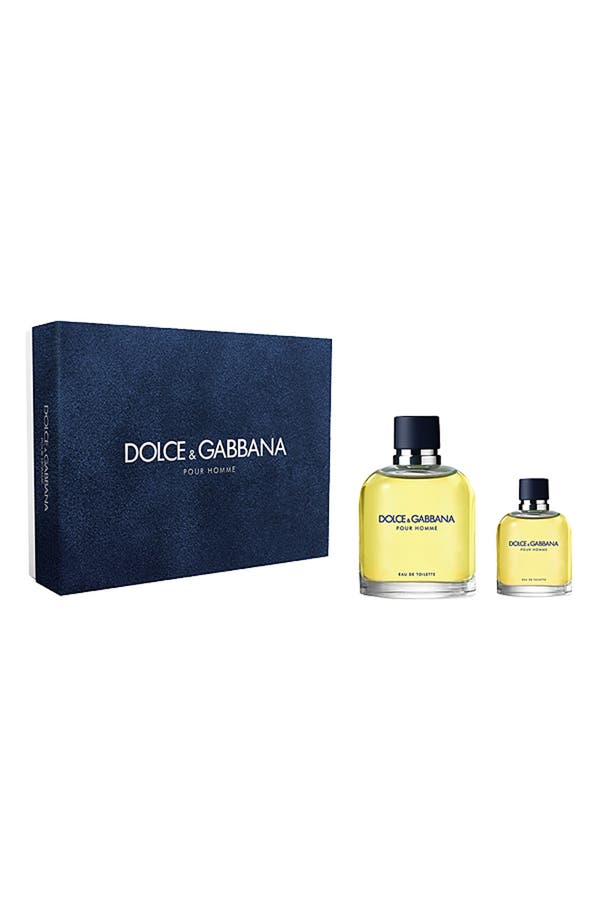 Main Image - Dolce&Gabbana Beauty 'Pour Homme' Gift Set ($113 Value)