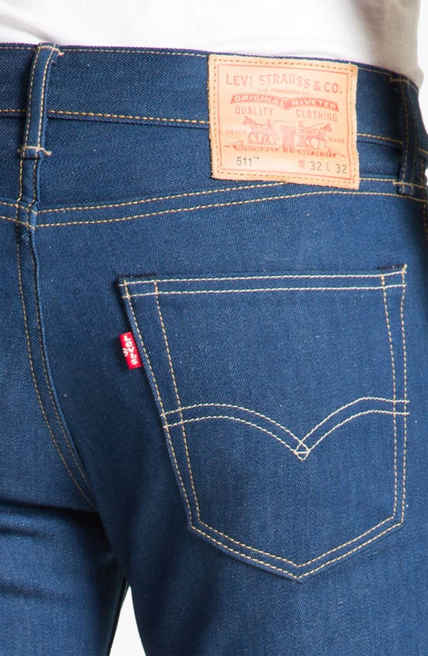 Alternate Image 4  - Levi's® '511™' Skinny Leg Jeans (Recycled 3)