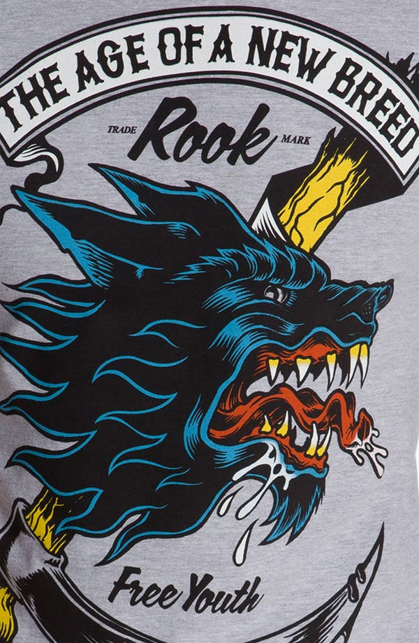 Alternate Image 3  - Rook 'Rushin' Wolf' T-Shirt