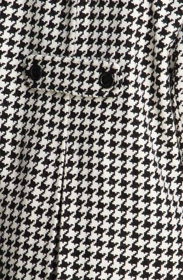 Alternate Image 3  - Gallery Single Breasted Houndstooth Coat (Plus) (Online Exclusive)