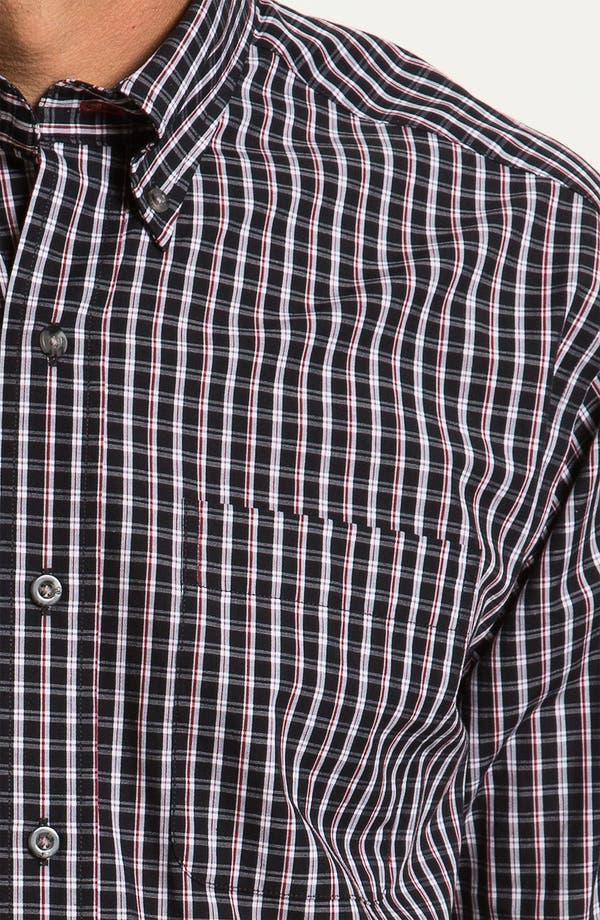 Alternate Image 3  - Cutter & Buck 'Elfin' Check Sport Shirt (Big & Tall)