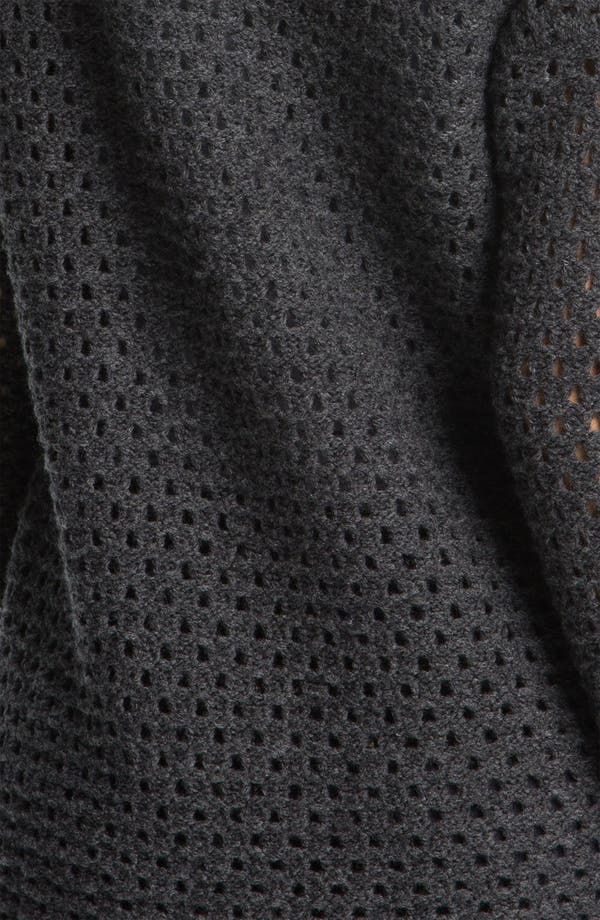 Alternate Image 3  - James Perse Mesh Knit Funnel Neck Sweater
