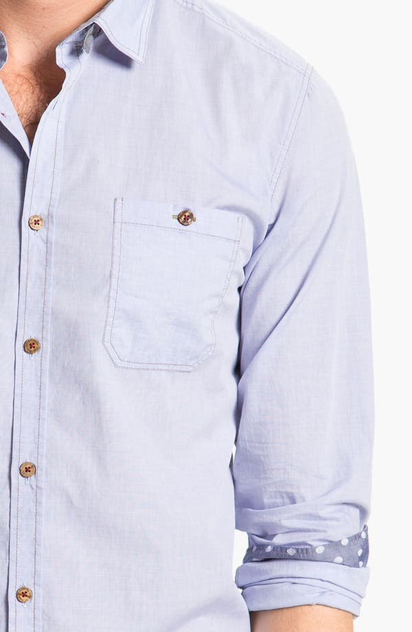 Alternate Image 3  - Ted Baker London 'Pencar' Woven Sport Shirt