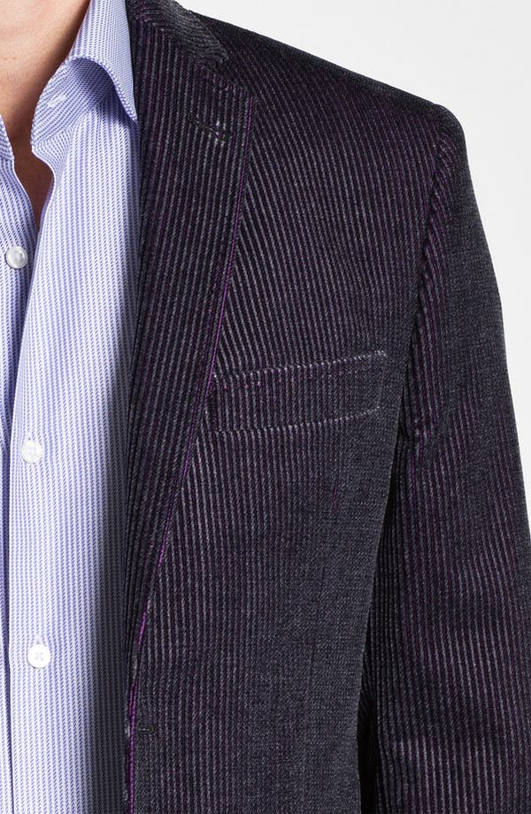 Alternate Image 3  - Ted Baker London 'Global' Trim Fit Corduroy Sportcoat