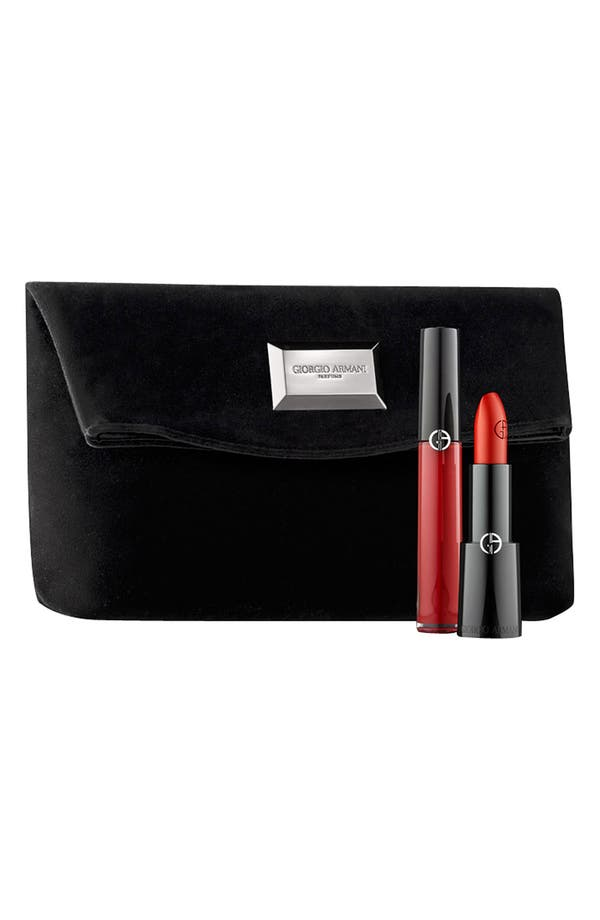 Alternate Image 1 Selected - Giorgio Armani Red Lip Set ($60 Value)