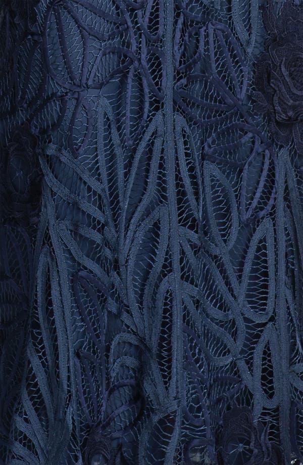 Alternate Image 4  - Soulmates Three Piece Embroidered Jacket & Skirt Set