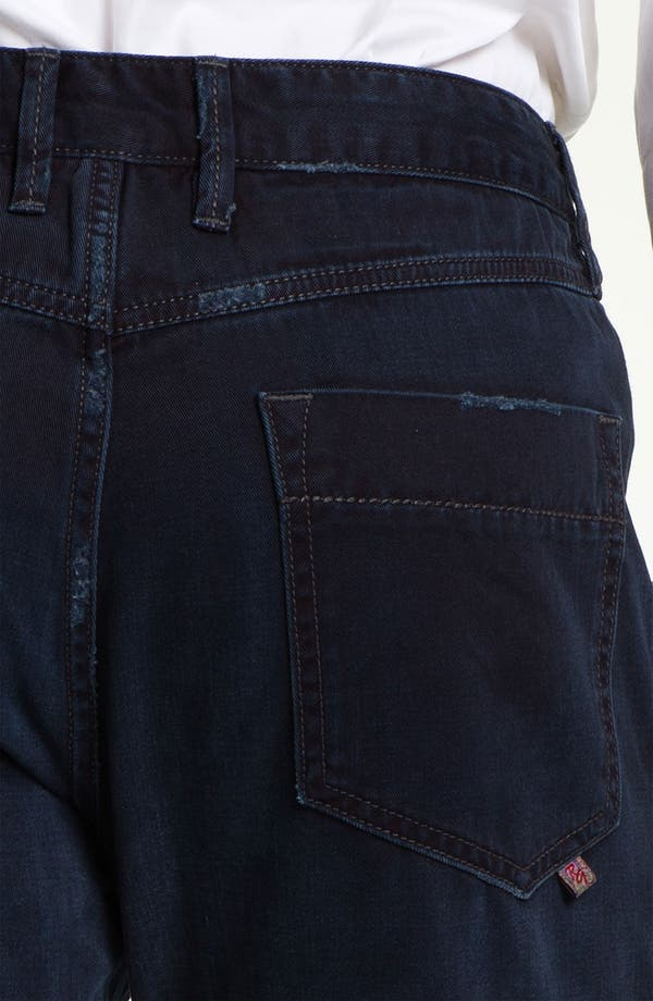 Alternate Image 4  - Robert Graham Jeans 'Blue Tar' Classic Fit Straight Leg Chinos