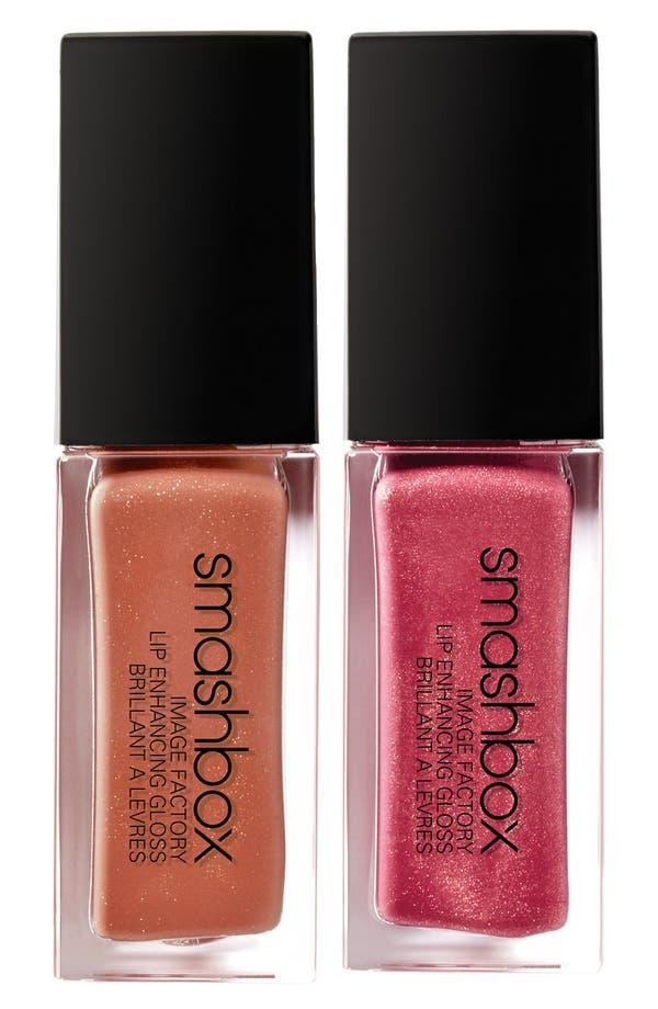 Main Image - Smashbox 'Image Factory - Fab/Snappy' Lip Enhancing Gloss Duo