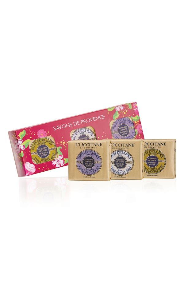 Alternate Image 1 Selected - L'Occitane 'Savons de Provence' Deluxe Soap Set ($21 Value)