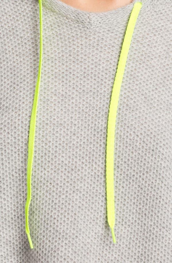 Alternate Image 4  - autumn cashmere Honeycomb Stitch Hoodie