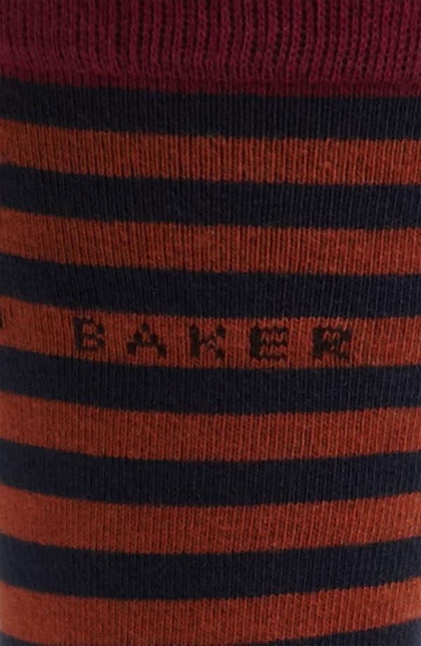 Alternate Image 2  - Ted Baker London Stripe Socks