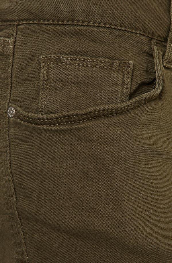Alternate Image 3  - Topshop Moto 'Patti' Cutoff Denim Shorts