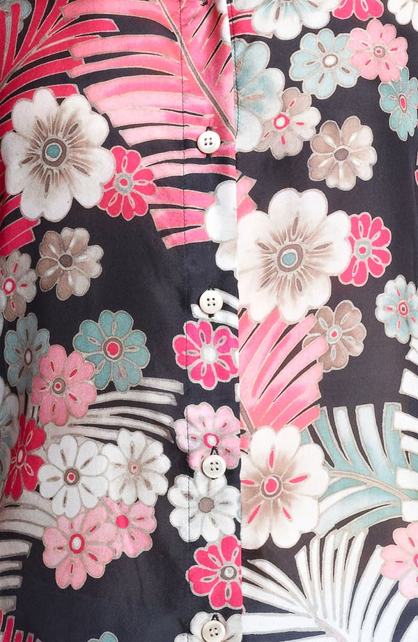 Alternate Image 3  - Armani Collezioni Botanical Print Silk Blouse