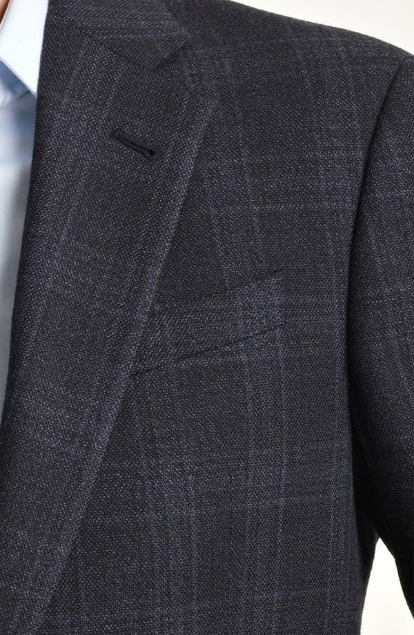 Alternate Image 3  - Armani Collezioni 'Giorgio' Trim Fit Plaid Blazer