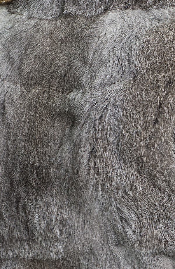Alternate Image 3  - MICHAEL Michael Kors Genuine Rabbit Fur Vest