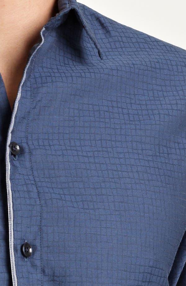 Alternate Image 3  - Armani Collezioni Cotton Blend Sport Shirt