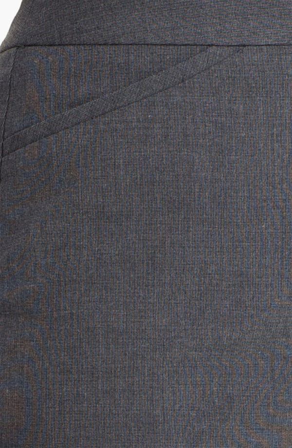 Alternate Image 3  - Halogen® Micro Texture Pencil Skirt