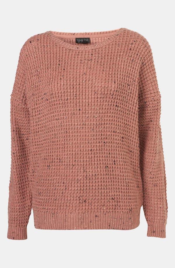 Alternate Image 1 Selected - Topshop Speckled Sweater