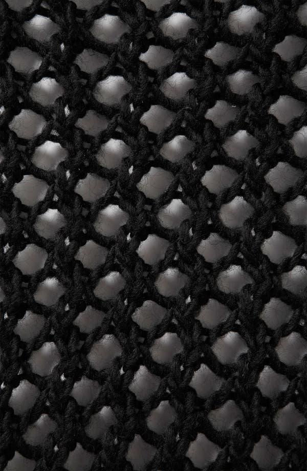 Alternate Image 3  - Topshop Net Knit Sweater