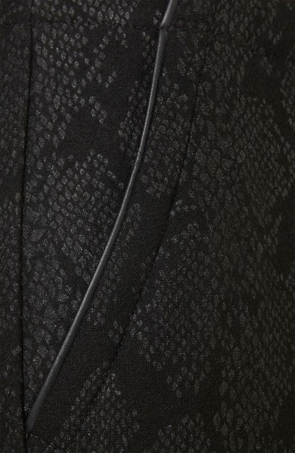 Alternate Image 3  - Topshop Snake Print Crop Cigarette Pants