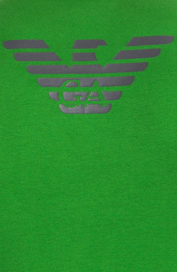Alternate Image 3  - Emporio Armani 'Eagle' Stretch Cotton V-Neck T-Shirt