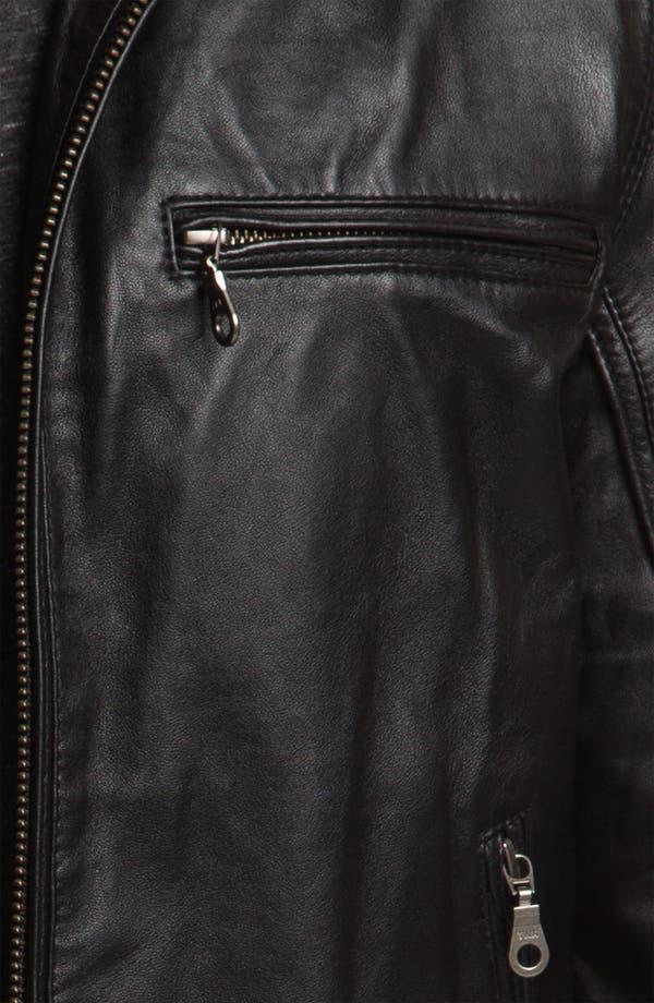 Alternate Image 3  - Howe 'Hellz Bellz' Leather Moto Jacket