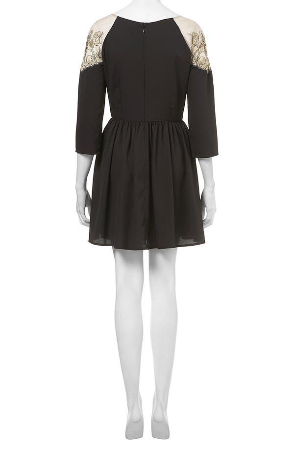 Alternate Image 2  - Topshop Vintage Lace Dress