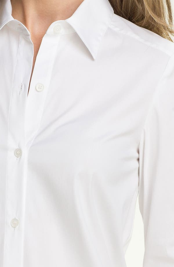 Alternate Image 3  - Lafayette 148 New York Relaxed Button Front Shirt