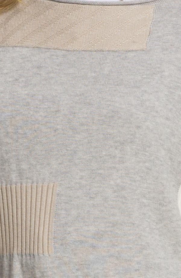 Alternate Image 3  - Lafayette 148 New York Intarsia Colorblock Sweater