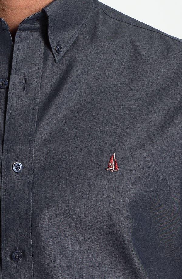 Alternate Image 3  - Nordstrom Traditional Fit Denim Sport Shirt