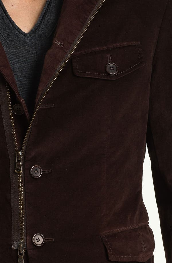 Alternate Image 3  - John Varvatos Star USA Stretch Cotton Jacket