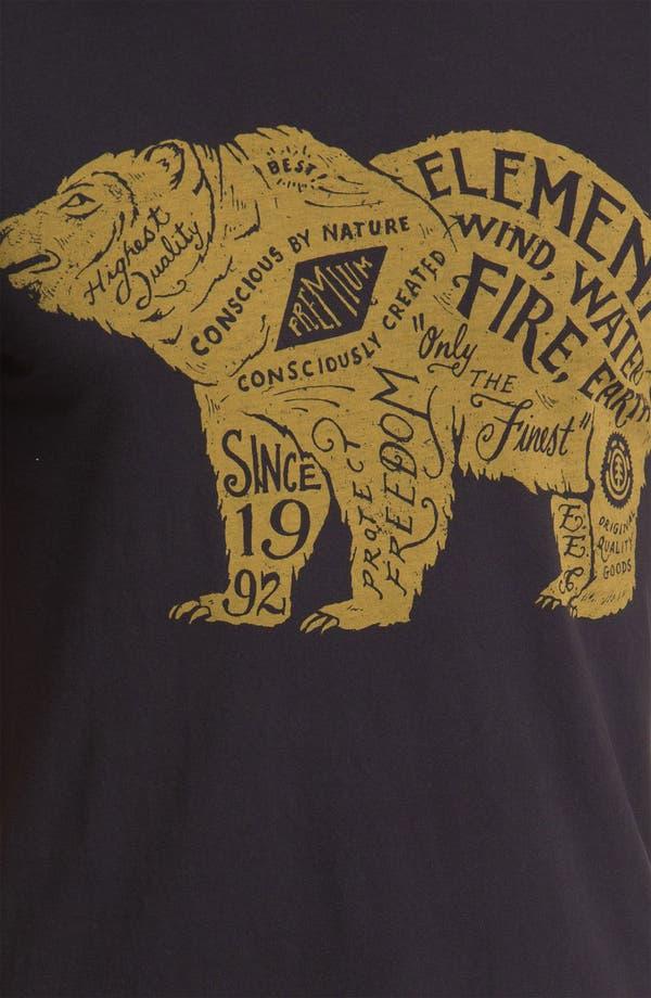 Alternate Image 3  - Element 'Bear' Graphic T-Shirt