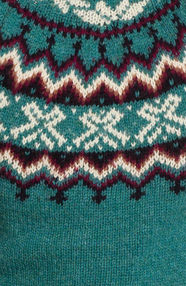 Alternate Image 3  - Topman Pattern Crewneck Sweater
