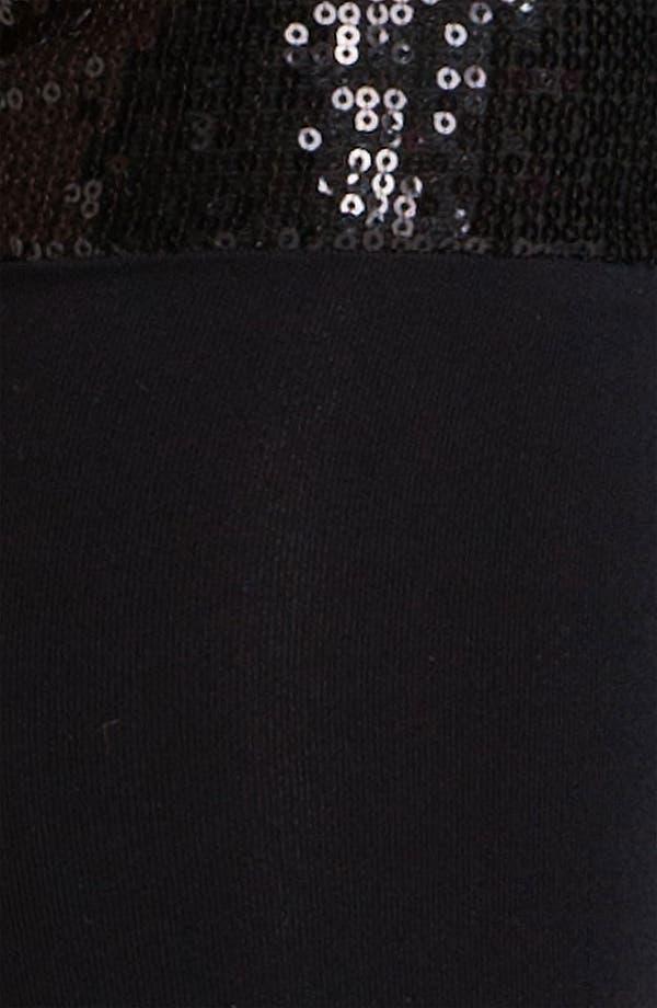 Alternate Image 2  - DKNY Sequined Over the Knee Socks