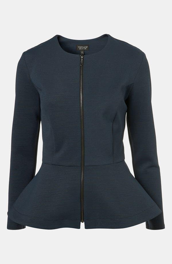 Main Image - Topshop Peplum Jacket