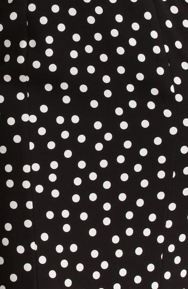 Alternate Image 3  - Dolce&Gabbana Polka Dot Stretch Cady Dress